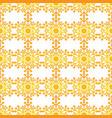 seamless snowflake texture vector image