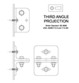 Third Angle Orthographic Projection