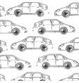 vehicle car motor transport pattern design hand vector image