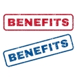 Benefits Rubber Stamps