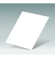 blank vector image vector image