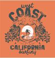 California surfing company vector | Price: 1 Credit (USD $1)