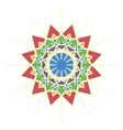 Colorful Moroccan tiles ornaments vector image