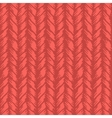 Decorative knit seamless pattern vector image