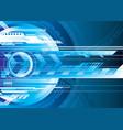 digital tech vector image vector image
