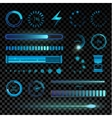 Interface icons set vector image vector image
