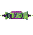 South Carolina The Palmetto State vector image