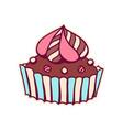 sweet cake vector image vector image