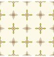 Textile design line seamless pattern Geometric vector image vector image