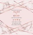 wedding luxury invitation card vector image vector image