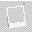 Abstract creative photo frame For web and vector image vector image