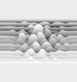 background with paper waves for web sites vector image