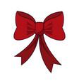 bow tie decorative vector image