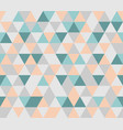 colorful tile triangle background vector image vector image