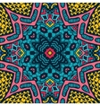 Festive colorful ethnic tribal design vector image