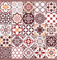lisbon azulejos tile pattern portuguese vector image vector image