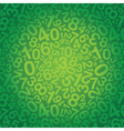 number background small vector image vector image