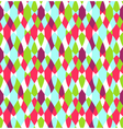Seamless Bright Abstract Stained Glass Pattern vector image vector image