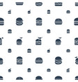 sesame icons pattern seamless white background vector image vector image