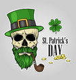 stickers set for saint patricks day vector image vector image