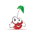 sweet and cute cherry vector image vector image