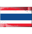 thailand national flag vector image vector image