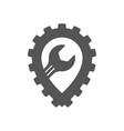 auto repair garage auto service icon vector image