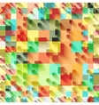 Beautiful colorful grid vector image vector image