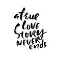 hand lettered inspirational quote a true love vector image vector image