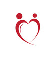 hearth people vector image vector image