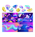 liquid abstract abstracted color backdrop vector image vector image