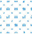 mom icons pattern seamless white background vector image vector image