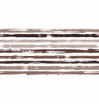 paintbrush lines horizontal seamless texture vector image vector image