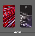 phone covers for man vector image vector image