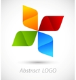 Abstract logo vector image