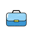 briefcase to businessman important documents vector image