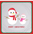 Christmas greeting card17 vector image vector image