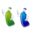 Cola or sods drink bottle in cartoon style isolate vector image