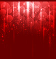 light red abstract background vector image