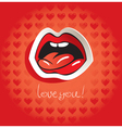 love language vector image vector image