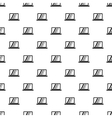 Monitor pattern simple style vector image vector image
