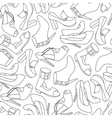 shoes seamless vector image
