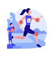 sport medicine abstract concept vector image vector image