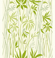 texture of bamboo thickets on a light background vector image vector image