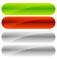 green red button backgrounds gray versions vector image vector image