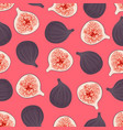 pattern with fig 1 vector image vector image