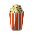 popcorn snack icon image vector image vector image