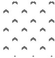 seamless pattern with arrow up vector image