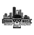 urban music 2021 0001 vector image