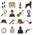 Detective crime vector image